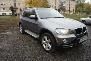 Подержанный автомобиль BMW X5, отличное состояние, 2008 года выпуска, цена 920 000 руб., Челябинск