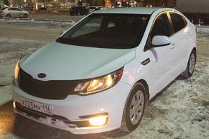 Подержанный автомобиль Kia Rio, отличное состояние, 2016 года выпуска, цена 650 000 руб., Казань