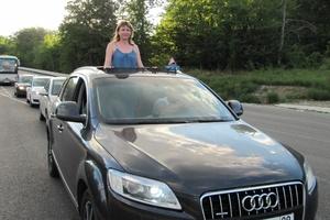 Подержанный автомобиль Audi Q7, хорошее состояние, 2007 года выпуска, цена 850 000 руб., Краснодар