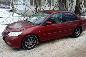 Подержанный автомобиль Honda Civic, хорошее состояние, 2005 года выпуска, цена 280 000 руб., Одинцово