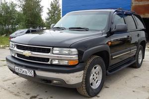Подержанный автомобиль Chevrolet Tahoe, хорошее состояние, 2005 года выпуска, цена 900 000 руб., Нижневартовск