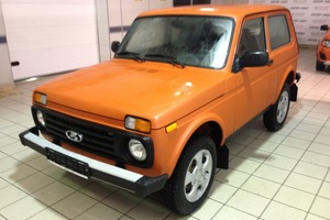 Авто ВАЗ (Lada) 4x4, 2016 года выпуска, цена 510 300 руб., Санкт-Петербург