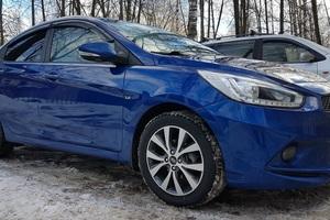 Подержанный автомобиль Hyundai Solaris, хорошее состояние, 2014 года выпуска, цена 580 000 руб., Красногорск