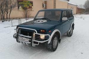 Подержанный автомобиль ВАЗ (Lada) 4x4, отличное состояние, 2001 года выпуска, цена 130 000 руб., Копейск