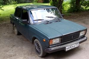 Подержанный автомобиль ВАЗ (Lada) 2107, среднее состояние, 2004 года выпуска, цена 42 000 руб., Железнодорожный