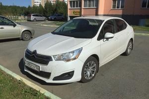 Подержанный автомобиль Citroen C4, хорошее состояние, 2013 года выпуска, цена 560 000 руб., Челябинск
