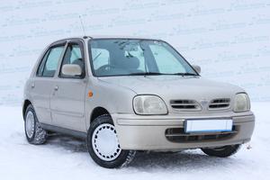Авто Nissan March, 2002 года выпуска, цена 115 000 руб., Екатеринбург