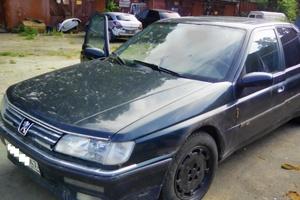 Автомобиль Peugeot 605, хорошее состояние, 1991 года выпуска, цена 100 000 руб., Санкт-Петербург