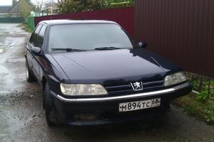 Автомобиль Peugeot 605, среднее состояние, 1996 года выпуска, цена 60 000 руб., Мичуринск