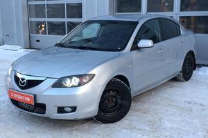 Подержанный автомобиль Mazda 3, среднее состояние, 2007 года выпуска, цена 295 000 руб., Казань
