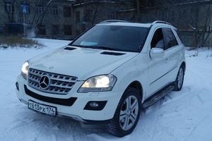 Подержанный автомобиль Mercedes-Benz M-Класс, отличное состояние, 2008 года выпуска, цена 1 200 000 руб., Челябинск