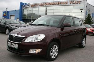 Авто Skoda Fabia, 2012 года выпуска, цена 460 000 руб., Санкт-Петербург