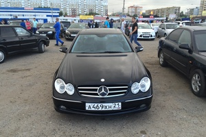 Автомобиль Mercedes-Benz CLK-Класс, хорошее состояние, 2002 года выпуска, цена 485 000 руб., Москва