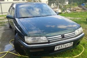 Автомобиль Peugeot 605, хорошее состояние, 1992 года выпуска, цена 100 000 руб., Калининград