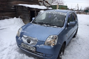 Подержанный автомобиль Kia Picanto, отличное состояние, 2006 года выпуска, цена 230 000 руб., Магнитогорск