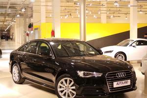 Подержанный автомобиль Audi A6, отличное состояние, 2016 года выпуска, цена 2 580 000 руб., Московская область