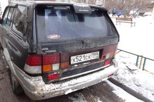 Автомобиль SsangYong Musso, среднее состояние, 1995 года выпуска, цена 150 000 руб., Москва