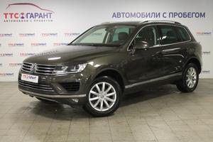 Подержанный автомобиль Volkswagen Touareg, отличное состояние, 2015 года выпуска, цена 2 555 350 руб., Казань