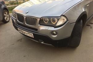 Подержанный автомобиль BMW X3, хорошее состояние, 2008 года выпуска, цена 540 000 руб., Челябинск