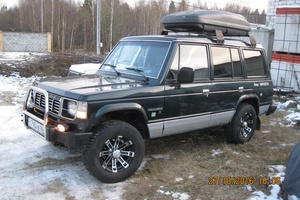 Автомобиль Hyundai Galloper, хорошее состояние, 1998 года выпуска, цена 300 000 руб., Ханты-Мансийск