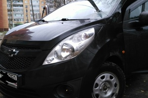 Автомобиль Chevrolet Spark, хорошее состояние, 2011 года выпуска, цена 310 000 руб., Ступино