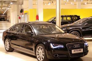 Подержанный автомобиль Audi A8, отличное состояние, 2011 года выпуска, цена 2 450 000 руб., Московская область