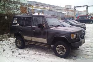 Автомобиль Hyundai Galloper, среднее состояние, 1996 года выпуска, цена 210 000 руб., Йошкар-Ола