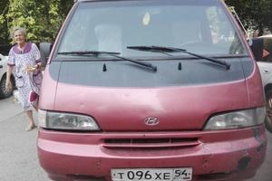 Автомобиль Hyundai Grace, среднее состояние, 1996 года выпуска, цена 130 000 руб., Новосибирск