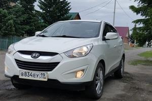 Автомобиль Hyundai Tucson ix, отличное состояние, 2010 года выпуска, цена 800 000 руб., Абакан