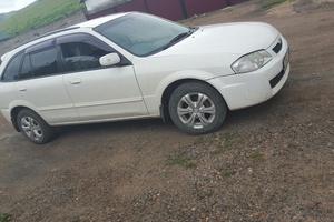 Автомобиль Mazda Familia, отличное состояние, 1999 года выпуска, цена 200 000 руб., республика Хакасия