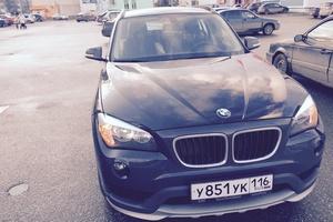Подержанный автомобиль BMW X1, хорошее состояние, 2014 года выпуска, цена 1 200 000 руб., республика Татарстан