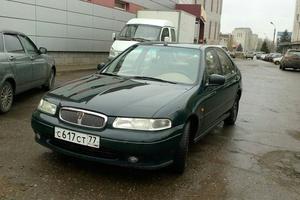 Автомобиль Rover 400 Series, хорошее состояние, 1998 года выпуска, цена 110 000 руб., Ростов