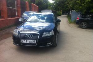 Подержанный автомобиль Audi A6, отличное состояние, 2010 года выпуска, цена 850 000 руб., Краснодар