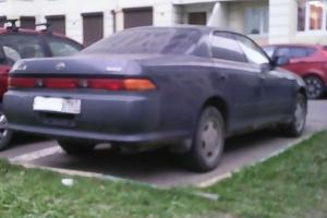 Автомобиль Toyota Mark II, хорошее состояние, 1994 года выпуска, цена 160 000 руб., Москва
