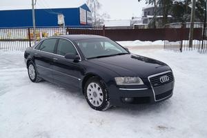 Подержанный автомобиль Audi A8, отличное состояние, 2007 года выпуска, цена 639 000 руб., Москва