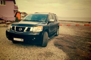 Автомобиль Nissan Armada, хорошее состояние, 2008 года выпуска, цена 850 000 руб., Алушта