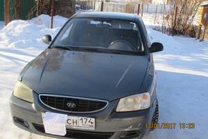 Автомобиль Hyundai Accent, хорошее состояние, 2006 года выпуска, цена 200 000 руб., Магнитогорск