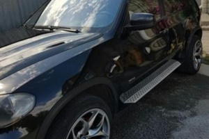 Подержанный автомобиль BMW X5, хорошее состояние, 2007 года выпуска, цена 970 000 руб., Челябинск