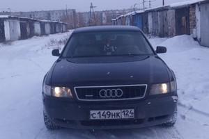 Подержанный автомобиль Audi A8, хорошее состояние, 1997 года выпуска, цена 280 000 руб., Красноярск