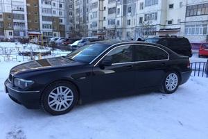 Подержанный автомобиль BMW 7 серия, хорошее состояние, 2002 года выпуска, цена 350 000 руб., Ханты-Мансийск