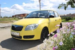 Подержанный автомобиль Skoda Fabia, отличное состояние, 2007 года выпуска, цена 250 000 руб., Челябинск
