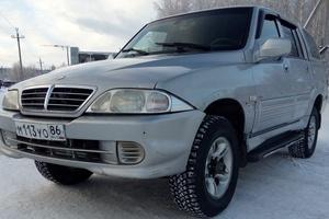 Автомобиль SsangYong Musso, хорошее состояние, 2006 года выпуска, цена 250 000 руб., Нефтеюганск