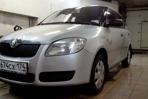 Подержанный автомобиль Skoda Fabia, хорошее состояние, 2007 года выпуска, цена 250 000 руб., Челябинск