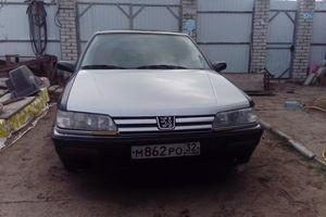 Автомобиль Peugeot 605, хорошее состояние, 1991 года выпуска, цена 95 000 руб., Брянск