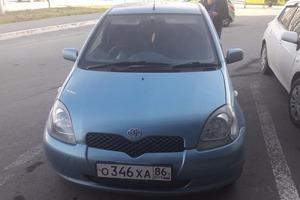 Автомобиль Toyota Vitz, отличное состояние, 2001 года выпуска, цена 160 000 руб., Ханты-Мансийск