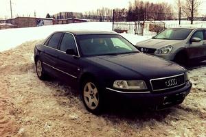 Автомобиль Audi A8, хорошее состояние, 2001 года выпуска, цена 310 000 руб., республика Чувашская - Чувашия
