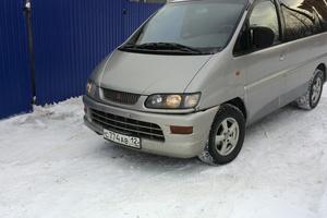Автомобиль Mitsubishi Space Gear, среднее состояние, 1999 года выпуска, цена 250 000 руб., Йошкар-Ола