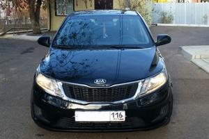Подержанный автомобиль Kia Rio, хорошее состояние, 2014 года выпуска, цена 500 000 руб., Нижнекамск