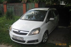 Автомобиль Opel Zafira, хорошее состояние, 2006 года выпуска, цена 410 000 руб., Краснодар