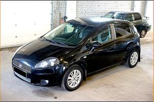 Авто Fiat Punto, 2007 года выпуска, цена 299 000 руб., Мурманск